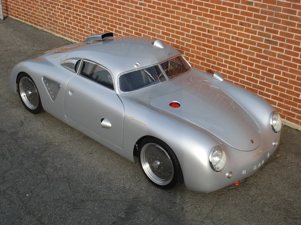 1955 Porsche 356 A Silver Bullet Custom Hot Rod Flatsixes