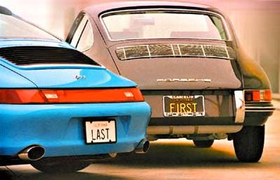 Jerry Seinfeld first and last porsche