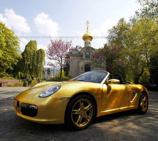 gold-plated-porsche-boxster