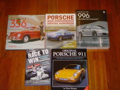 Porsche books published by motorbooks