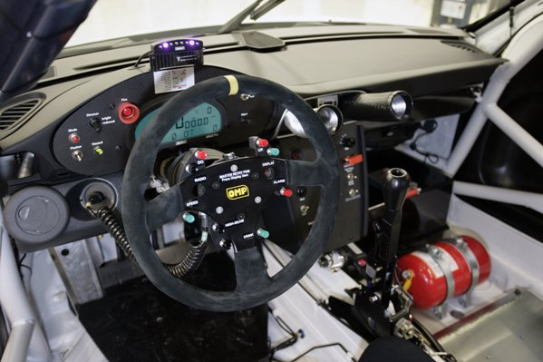 A look inside the 2009 Porsche GT3 RSR cockpit