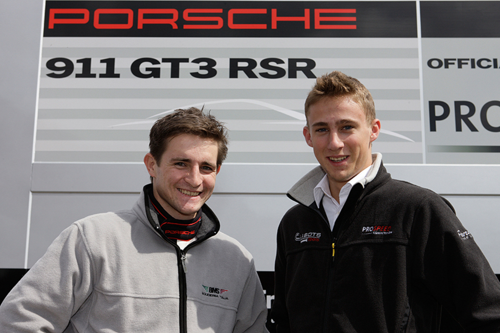 Porsche Juniors Martin Ragginger and Marco Holzer