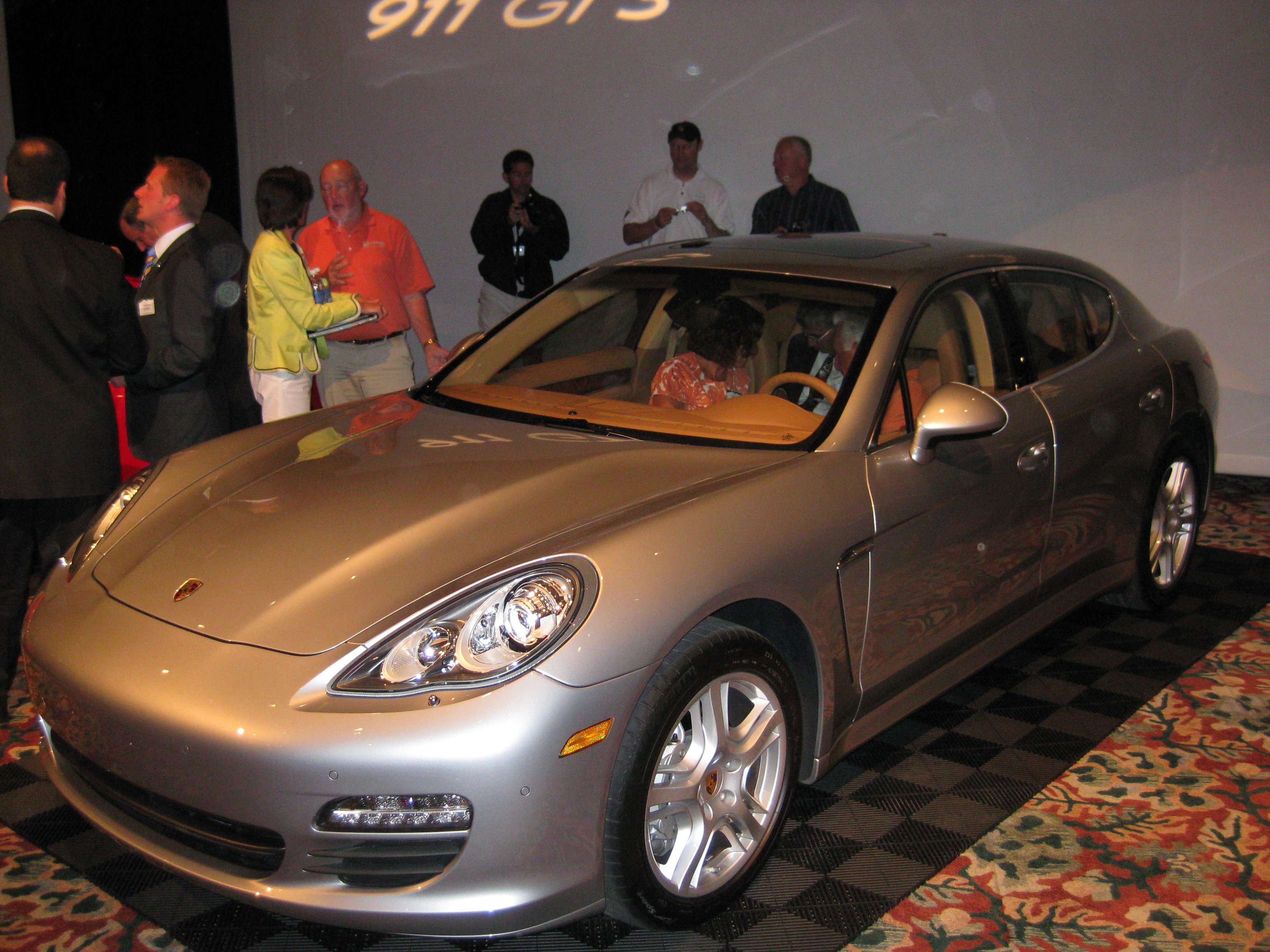 Porsche Panamera Debut at the 2009 PCA Parade