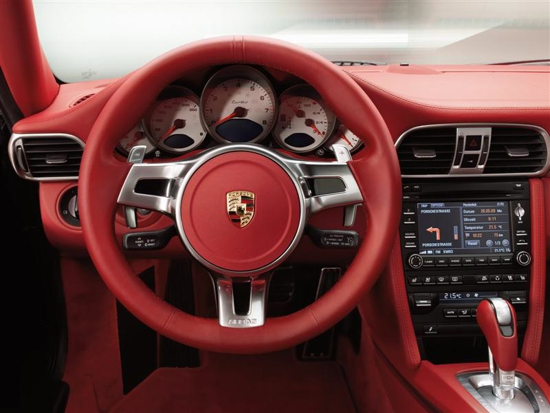 Porsche 2010 911 Turbo Wpdk And Paddle Shifters