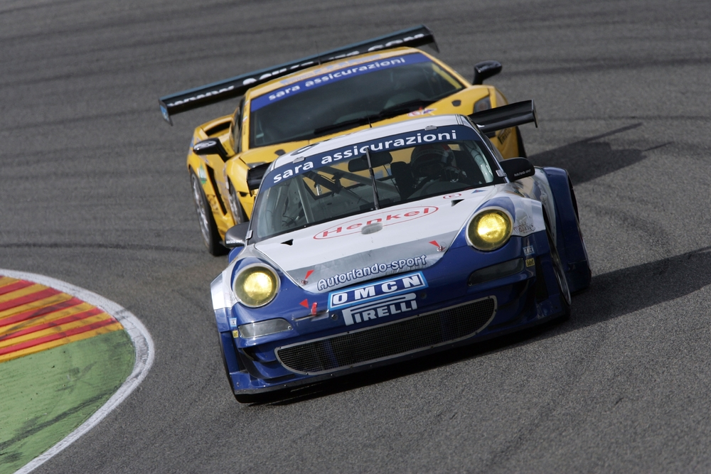 Campionato Italiano GT in Misano Sascha Maassen and Francisco Cruz-Martins in Autorlando Sport's 911 GT3 RSR