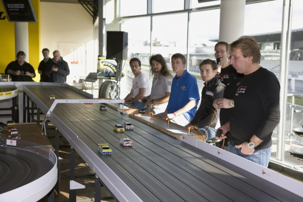24 hour slot-car race