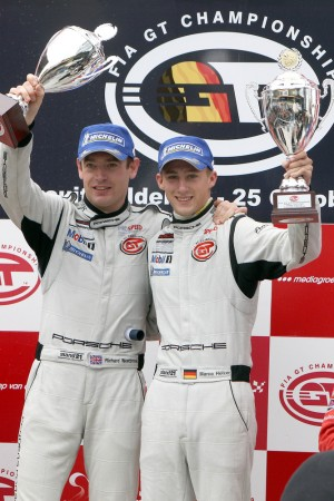 FIA GT Championship Richard Westbrook Marco Holzer