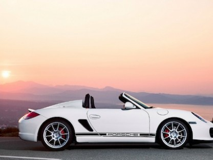Porsche Boxster Spyder for the Purist
