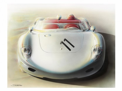 Can Art Show How a Porsche Feels, Rather Than Simply How it Looks?