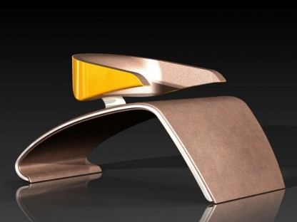 sleek porsche design concept chair