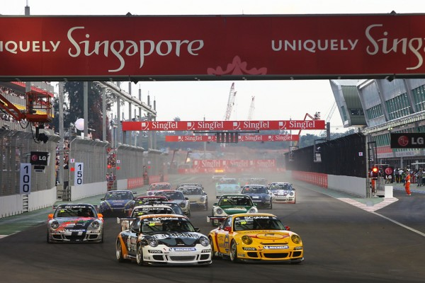 Porsche Carrera Cup in Singapore