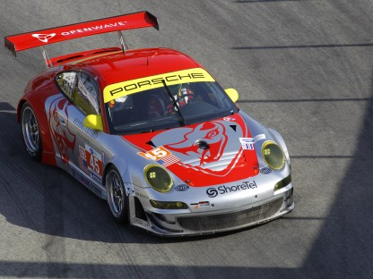 Porsche's Long/Bergmeister Win GT at Long Beach; Porsche RS Spyder Third Overall