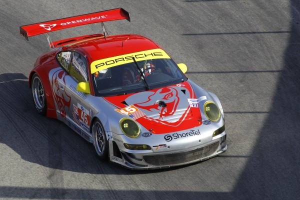 Porsche Flying Lizard Racing Porsche