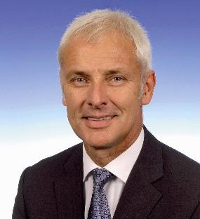 Matthias Müller New Chairman of the Porsche AG Board of Management