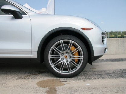 PCCB brakes on 2011 Porsche Cayenne Turbo