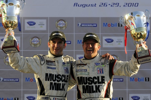 Muscle Milk wins in Porsche RS Spyder at Mosport