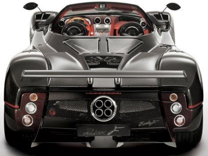 one of 25 Pagani Zonda Roadster F