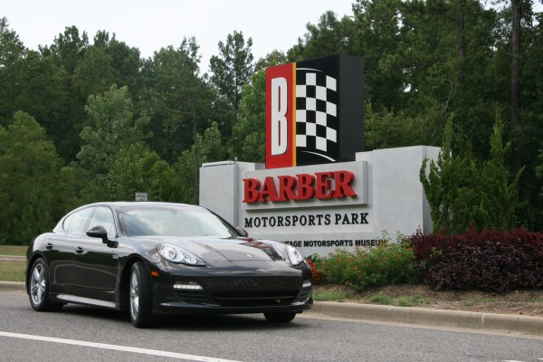 Porsche Panamera at Barber Motorsport Park