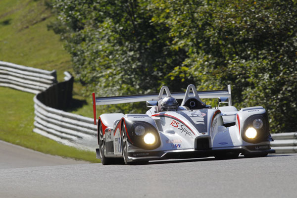 Muscle Milk Porsche RS Spyder at Mosport