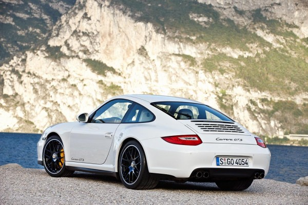2011 Porsche 911 GTS White Coupe
