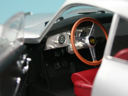 Interior of the Schucotronic 2.4 Porsche 356