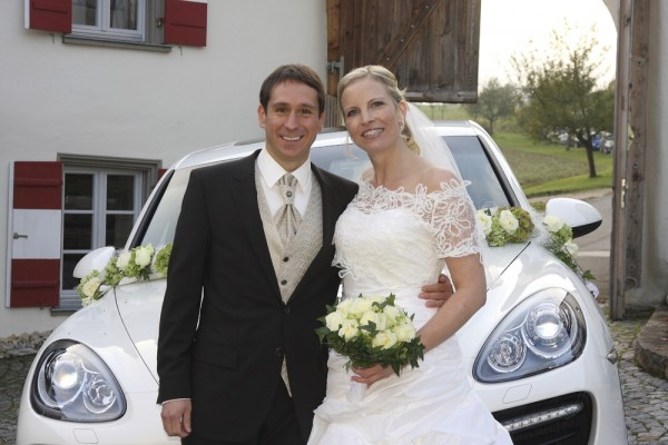 Porsches wolf henzler with fiance antje