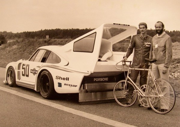 jean claude rude and henri Pescarolo motor pacing porsche