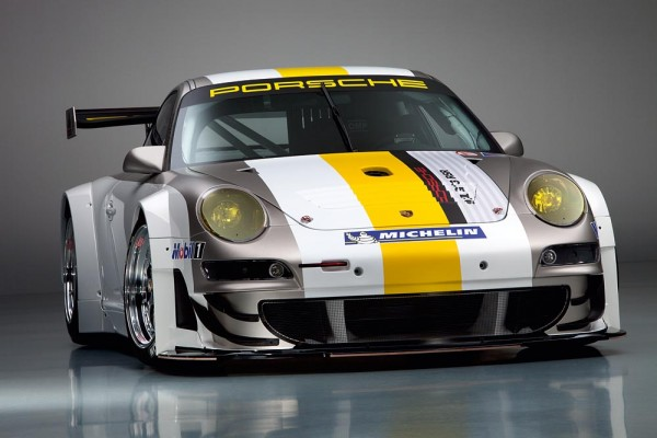 publicity shot of the Porsche 911 GT3 RSR