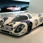 Martini Liveried Porsche at the Museum