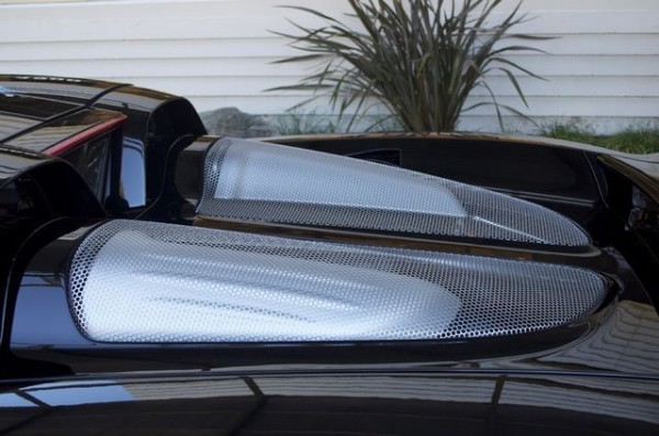 Jerry Seinfelds Porsche Carrera GT rear deck in carbon fiber