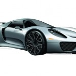 A sketch of the Porsche 918 Spyder Hybrid