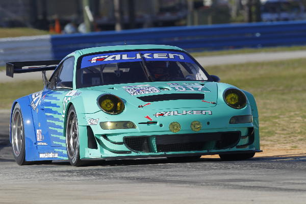 911 GT3 of Falken Tire testing at Sebring