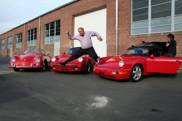 richard sloan jumping in front of speedsters