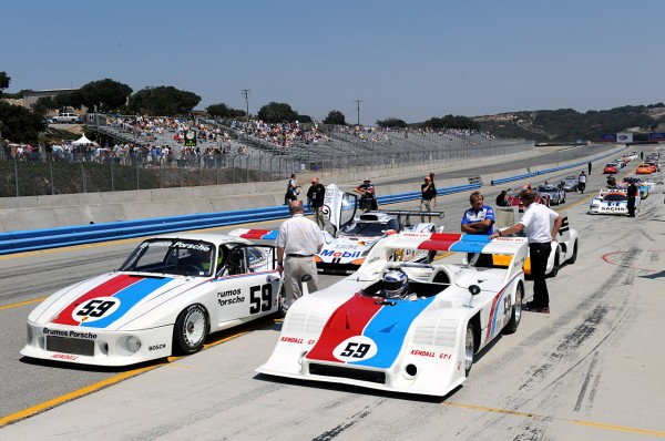historic brumos racing porsches