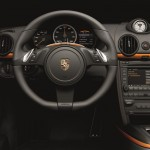 Porsche Boxster E Dashboard and interior