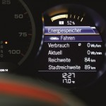 Digital Display on the Electric Boxster