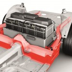 Electric Porsche Boxster Battery Placement Diagram