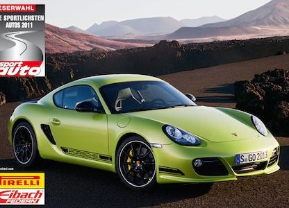 "Porsche Wins Seven of Fifteen First Place Spots as ""Sportiest Car of 2011"""