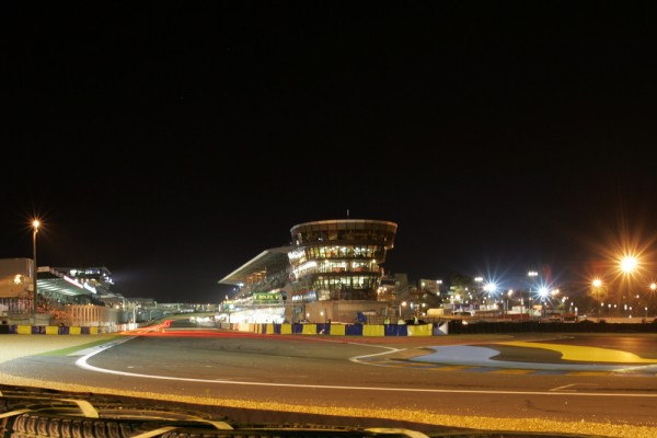 Time Lapse Photo of Porsches around Le Mans 24