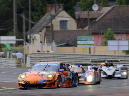 Pictures and Results of Porsche's Participation in the 79th Running of the 24 Hours of Le Mans