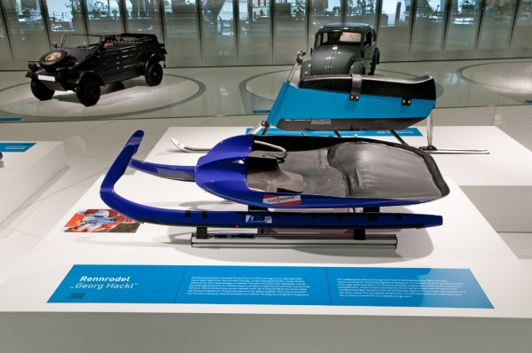 olympic sled designed by Porsche