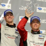 Joerg Bergmeister and Patrick Long on Podium in Second Place at Lime Rock ALMS