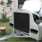 trailerable Porsche 356 BBQ