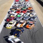 Porsche Family Photo Rennsport IV Laguna Seca in Tilt-Shift