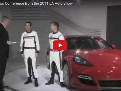 Did You Miss the Simulcast of Porsche's Press Conference from the LA Auto Show?