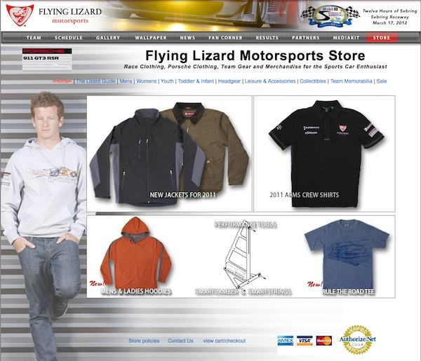 Coupon Code for Flying Lizard Motorsport