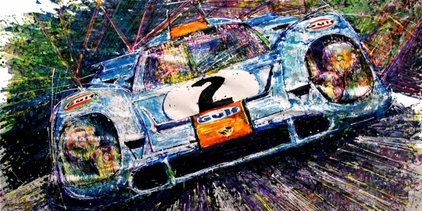 Porsche 917 by pop bang artish ian cook