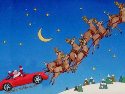 Twas the Night Before Christmas (Porsche Style)