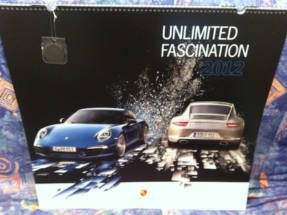 Exclusive Discount Offer on the 2012 Porsche Calendar with Collector Coin