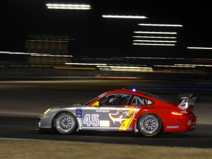 Flying Lizard #45 at Daytona Roar Before the 24